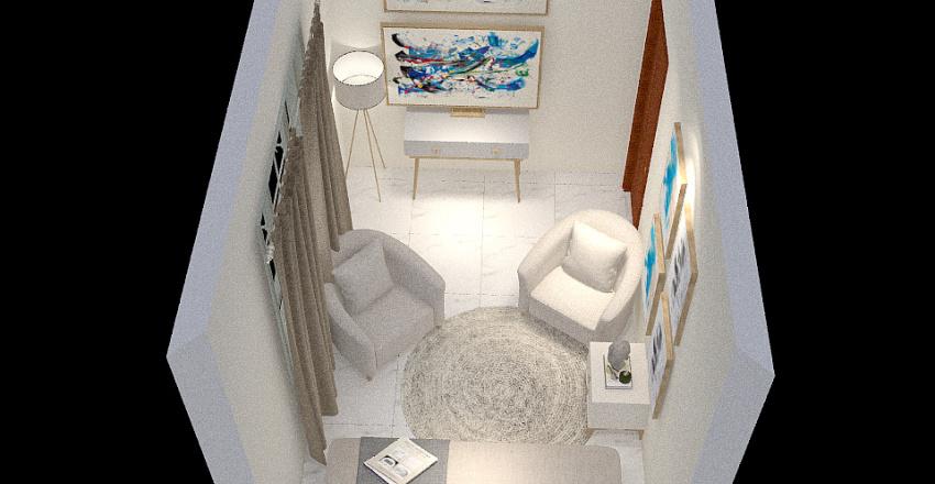 Consul Psic Juliermy C Estantes Interior Design Render