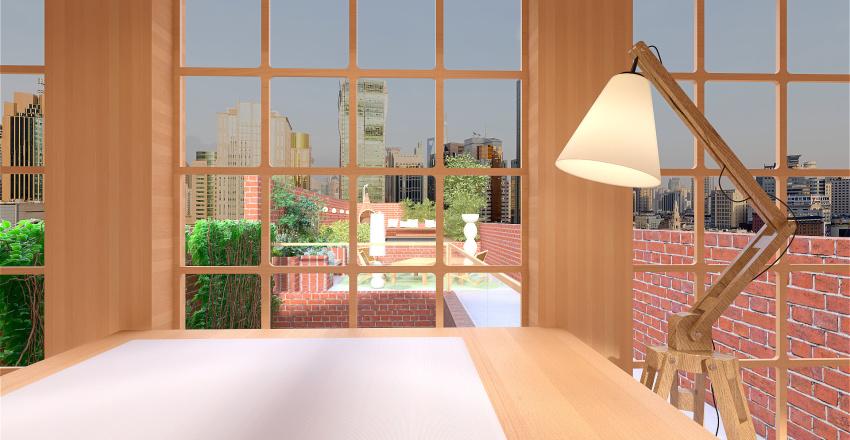 city life Interior Design Render