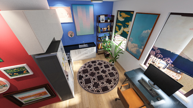 fabrik annan variant Interior Design Render
