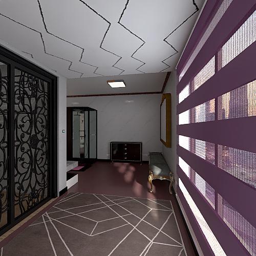 banheiro chique Interior Design Render