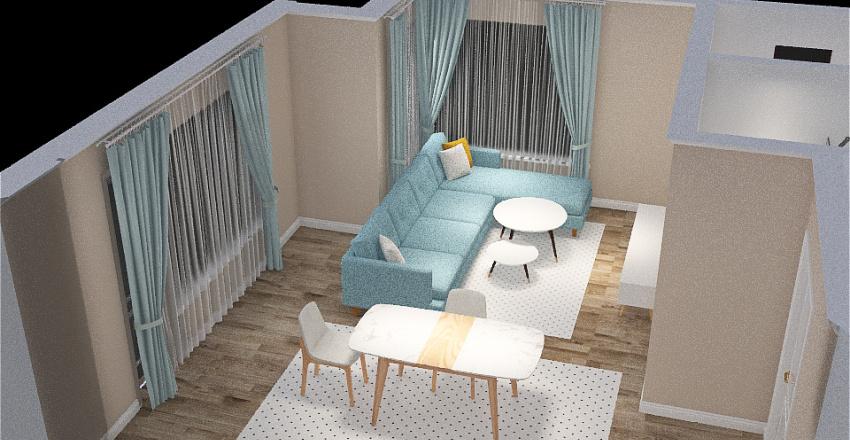 Home Kitchen 2 Interior Design Render