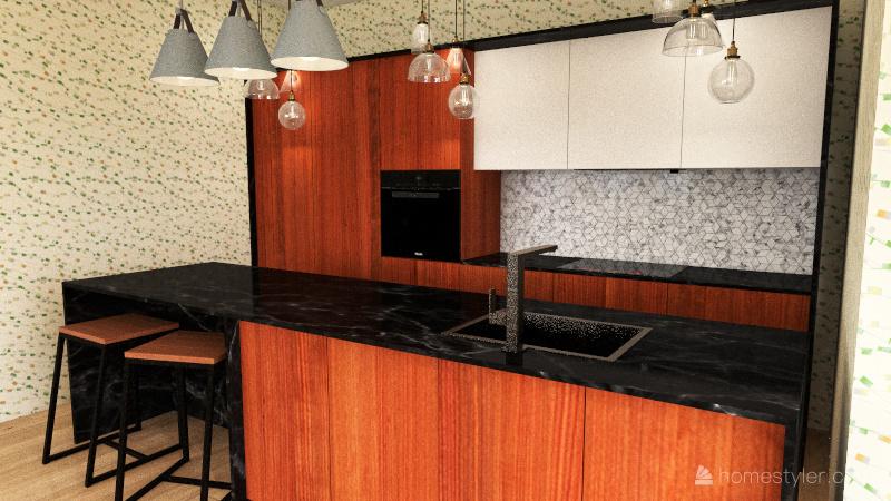 Dom dla studentek Interior Design Render