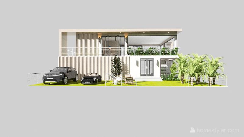 بيت 2 Interior Design Render
