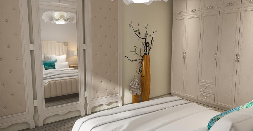 dormitor shabby chic Interior Design Render