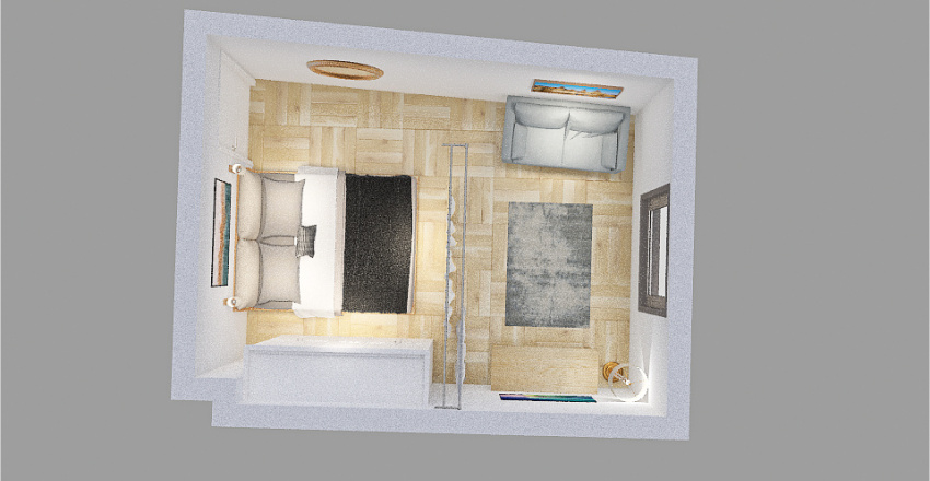 Cicero Room Version 3 Interior Design Render
