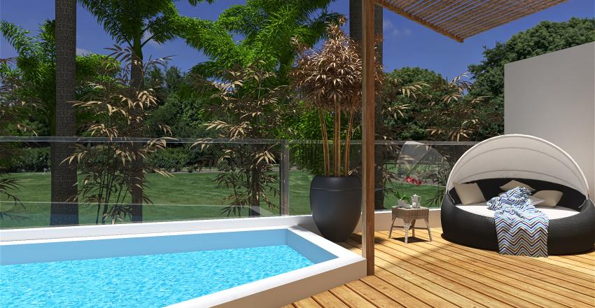 Villa Uluwatu. Bali. Interior Design Render