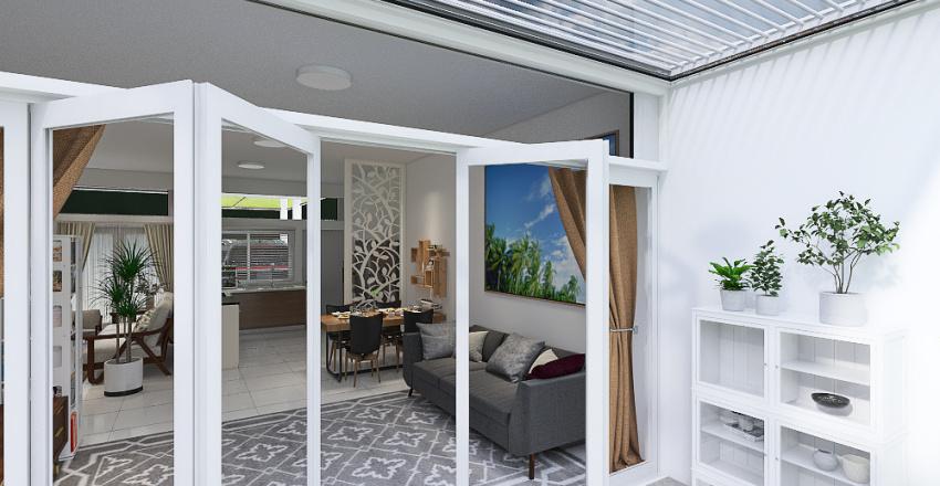 Windy & Chiko House Interior Design Render
