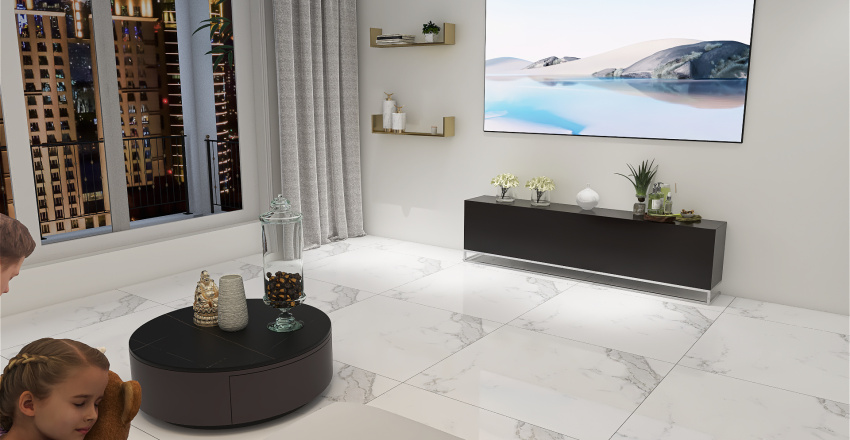 sala1.1 Interior Design Render