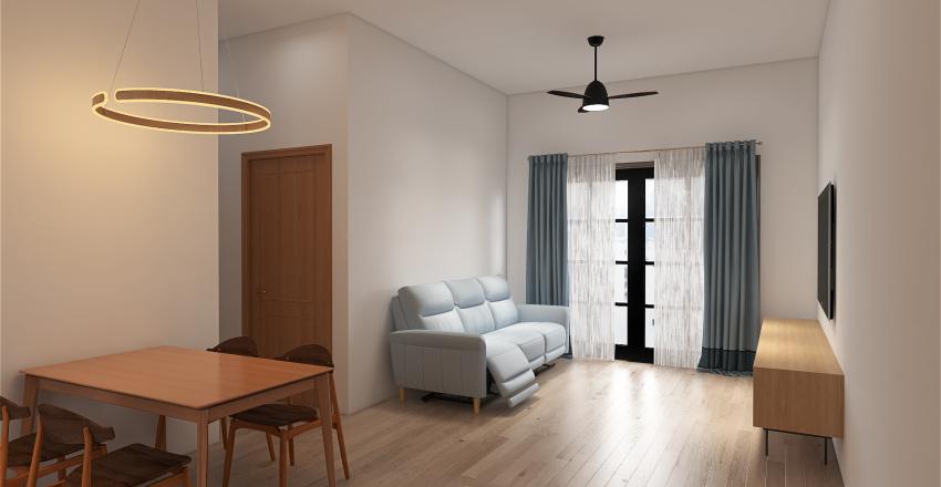 Min's Home Interior Design Render