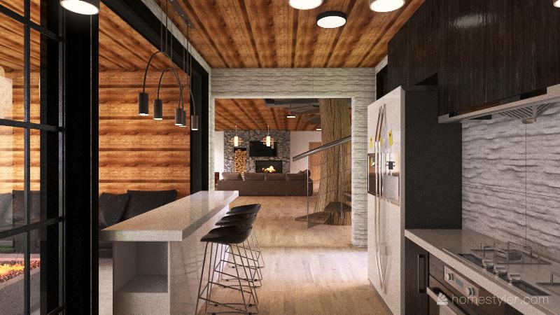 INTO THE WOODS Interior Design Render