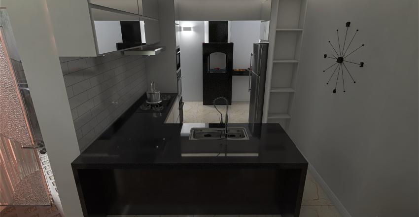 planta baixa Casa taruma Interior Design Render