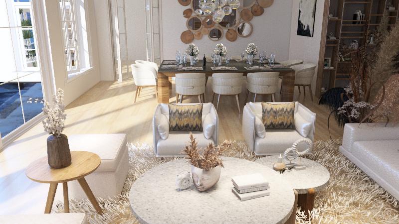 Borran Avenue 24 Penthouse Miami, Florida Interior Design Render