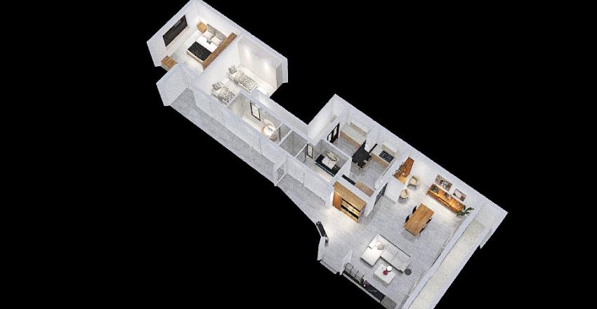CASA COMPLETA versione cucina 1 Interior Design Render