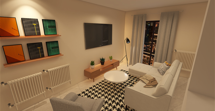 Good draft Interior Design Render