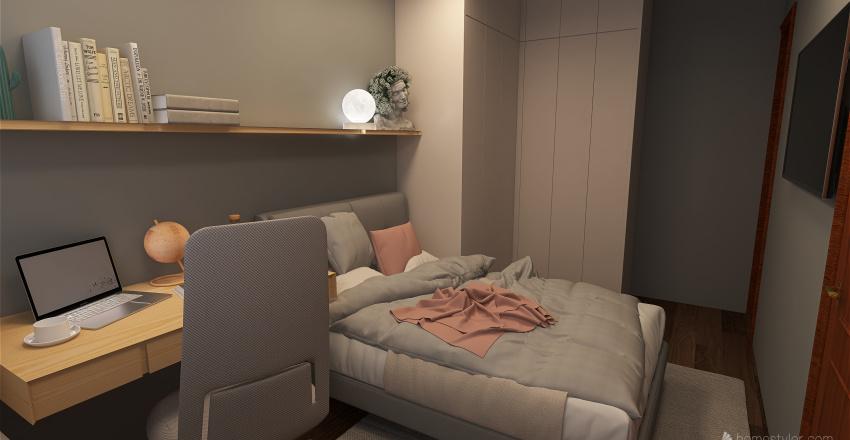 Random Room  Interior Design Render