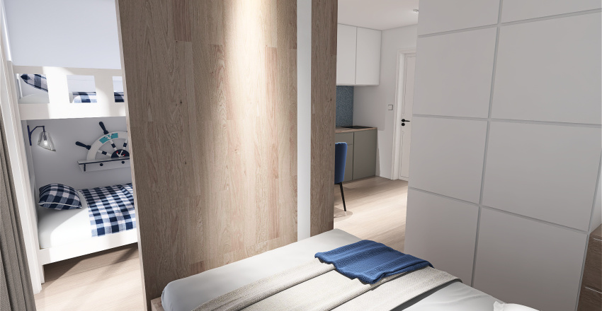 POKOJ GOSCINNY 25 SARBINOWO Interior Design Render