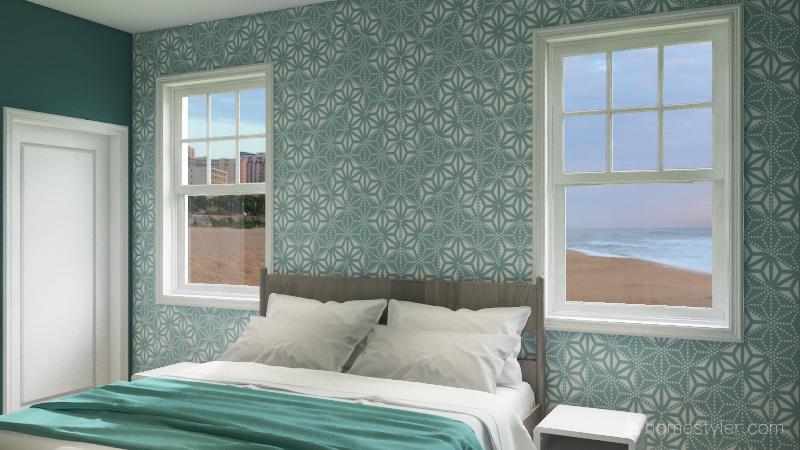 Retirement Beach Condo Interior Design Render