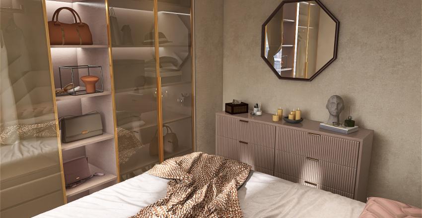 Comfy modern style Interior Design Render