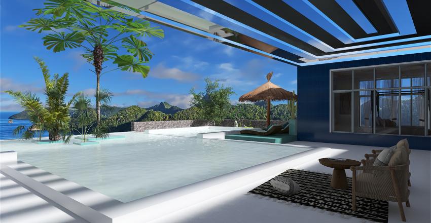 Au dessus de l'eau Interior Design Render