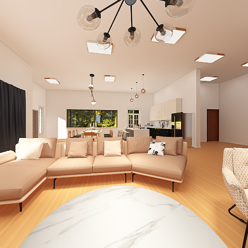 CASA RÚSTICA Interior Design Render