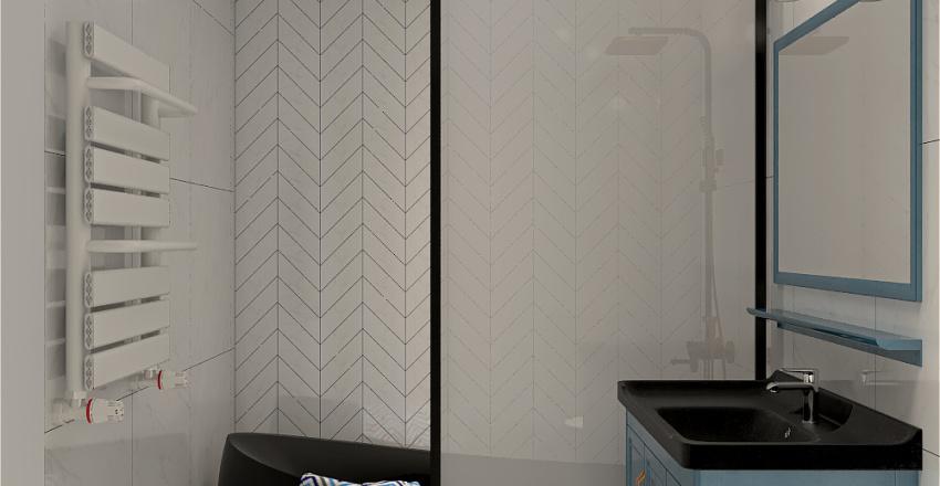 Casa Balotesti Interior Design Render