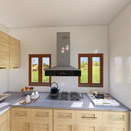 diseño cocina (kitchen) Interior Design Render