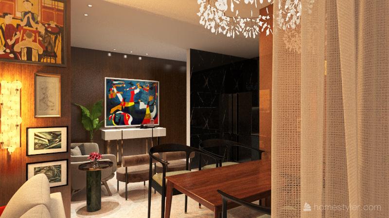 Projeto AC - EBAC - Mariana Cassali Interior Design Render