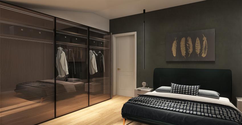 Appartamento in centro Interior Design Render