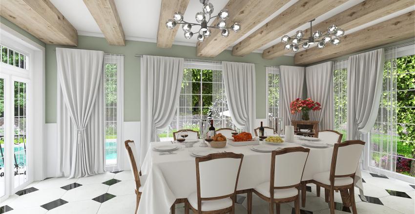 FRENCH HOUSE BOURGOISE Interior Design Render