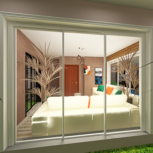 CASADELAZERCOMESCRITORIO Interior Design Render