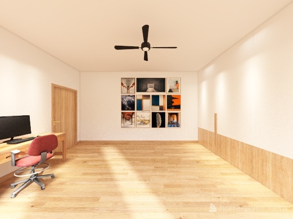 Void Plan Interior Design Render