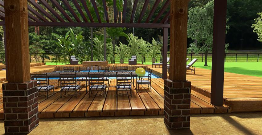 Barndominium w/Shop Interior Design Render