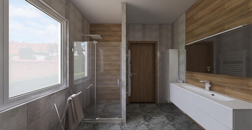 S.Zsolt és Judit fürdőszoba Interior Design Render