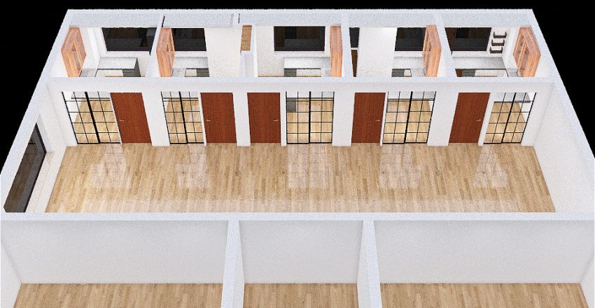 BRICK HOUSE Interior Design Render
