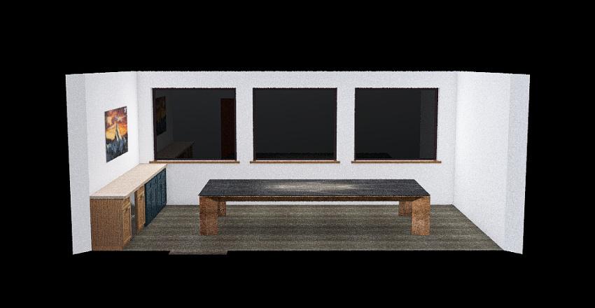 Conference Room Interior Design Render