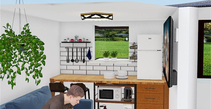 K's Kitchen Interior Design Render