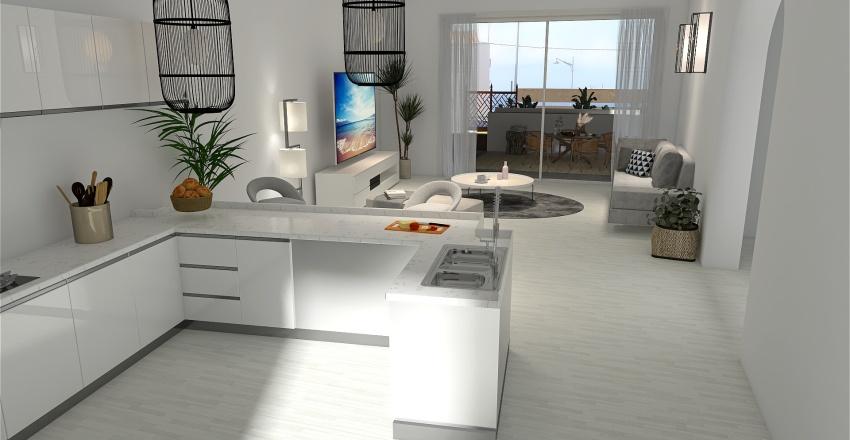 Isla Plana Beach Interior Design Render
