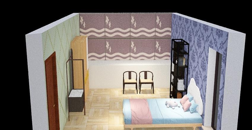 Room Decoration Interior Design Render