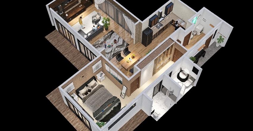 Copy of CAAD week3 Interior Design Render