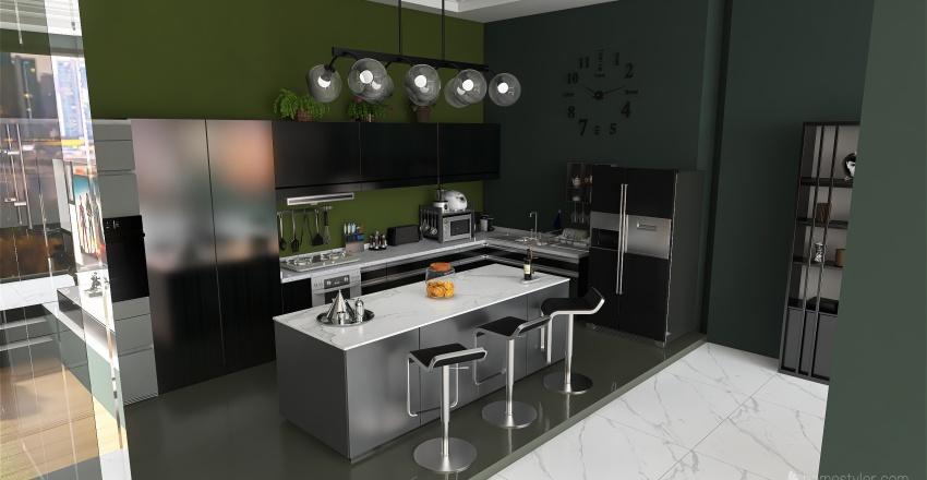 H 5 Interior Design Render