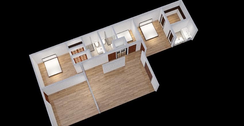 Copy of Tiffany's House Interior Design Render