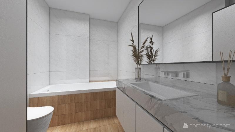 Comfort City Home Interior Design Render