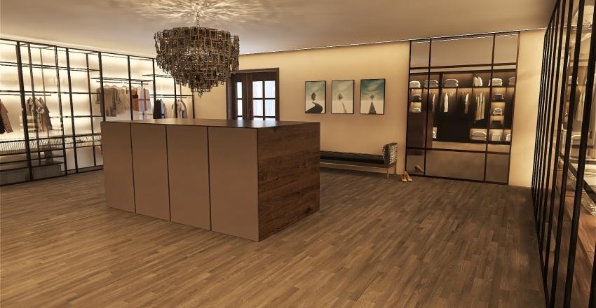 Dressing Room Interior Design Render