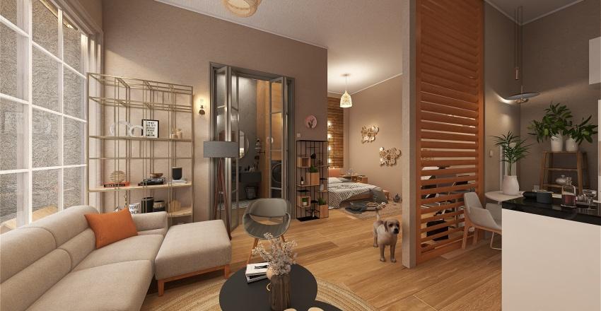 House no13 Interior Design Render
