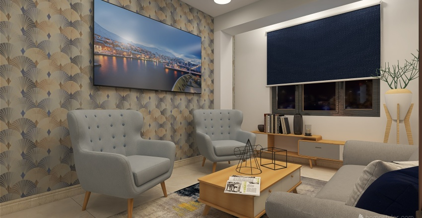 🌎 DEPA - SALA - LUCAS Interior Design Render