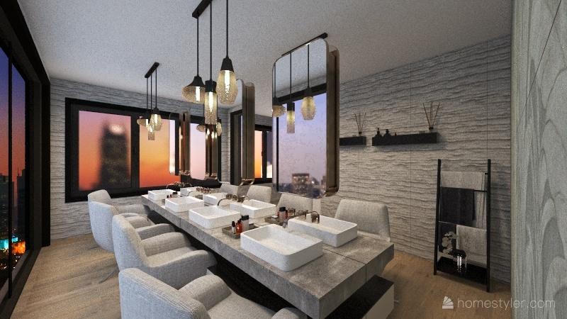 SPA & RESORT Interior Design Render