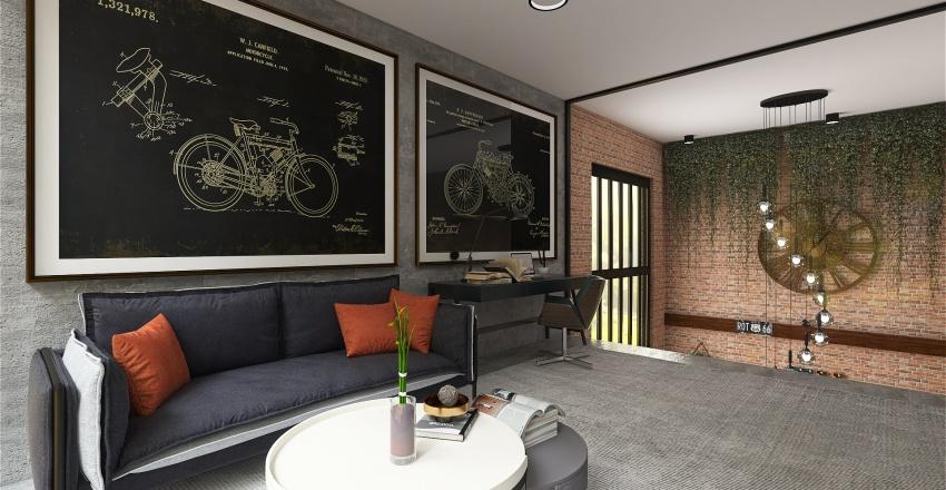 Loft Verde Interior Design Render