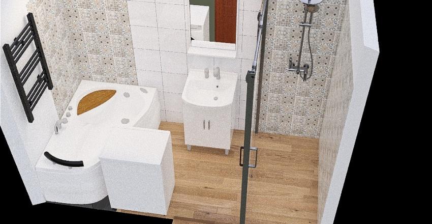 Copy of Łazienka 3_2 Interior Design Render