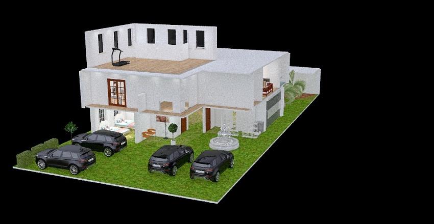 TERRAZA Interior Design Render