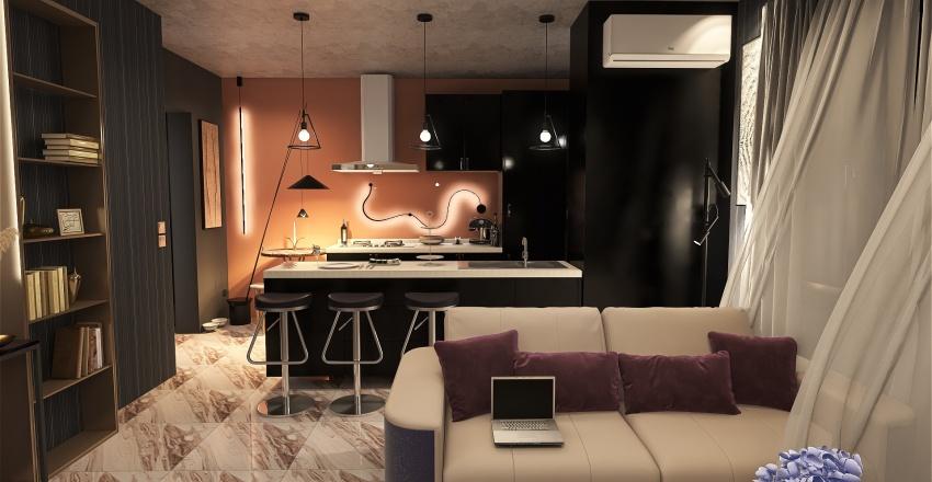 House no12  Interior Design Render